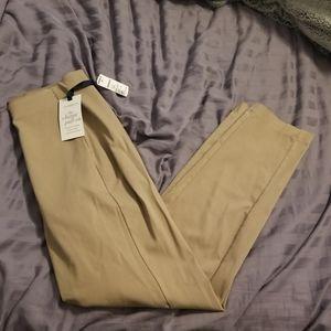 Croft and barrow khaki pants